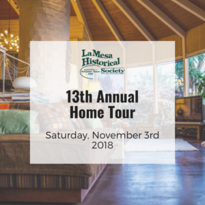 13th Annual La Mesa Home Tour
