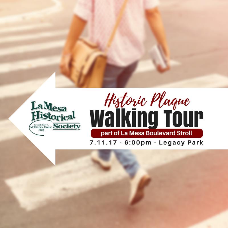 Historic Walking Tour La Mesa